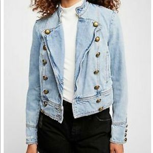 Free People Jacket S-XS New, worn 1 time